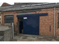 570 SQ.FT Workshop Unit To Let - Located Behind Shires Shopping Centre - Inc Car Parking