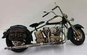 moto en métal