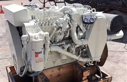 CUMMINS C450 MARINE ENGINE 6 CYL  Completely Rebuilt