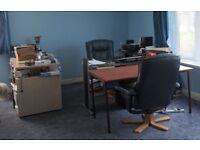3 x Office desks used