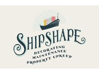 Shipshape - Professional Decorating, Maintenance & Property Upkeep