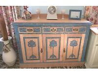 hand painted sideboards and dressers