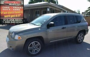 2008 Jeep Compass SUV Iconic 4x4! Roomy interior! Automatic!