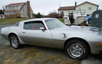 1978 Pontiac Trans Am - Silver with Red Interior
