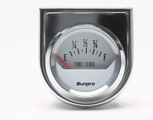 Sunpro Analog StyleLine Electrical Fuel Level Gauge 2