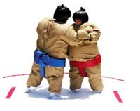 Sumo Wrestling Suits Kitchener – Checkers Fun Factory Inc.