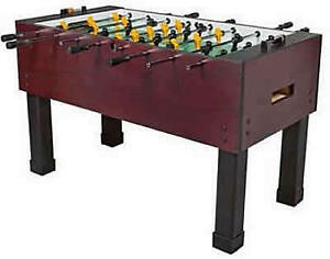 Tornado Foosball tables.  THE table to have!