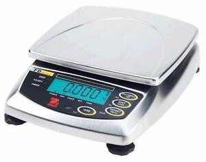 Ohaus FD3 Stainless Steel Food Scale