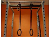 Gymnastic Rings & Adjustable Hanging Straps - Great for Gymnastic or Bodyweight Training