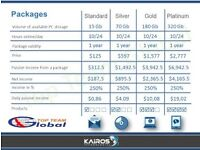 Opportunity with Kairos Planet give your HDD for Rent