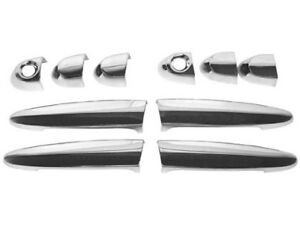 BMW e90 CHROME Door Handle Cover 10pc SET exterior outside pull cap