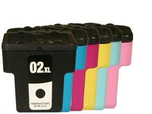 6 PK INK FOR HP 02 NON- OEM