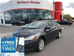 2015 Nissan Sentra S 1.8 I4 BLUETOOTH, ,A/C, CLOTH INTERIOR CRED