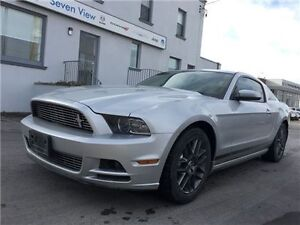 2014 Ford Mustang V6 Premium Leather, 2 Sets OF Tires !!