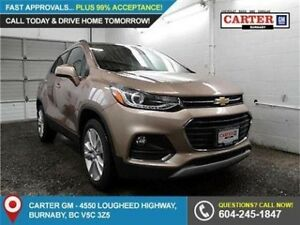 2018 Chevrolet Trax Premier AWD- Heated Front seats - Rear Vi...