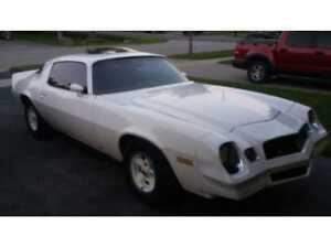 1979 Camaro RS with sunroof asking $6700 0.B.0