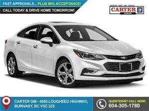 2018 Chevrolet Cruze Premier Auto FWD - Leather - Heated Fron...