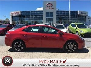 2014 Toyota Corolla LEATHER,SUNROOF& MORE! ONE OWNER!