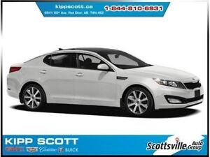 2012 Kia Optima EX Luxury, Heated Leather, Smart Key, Sunroof