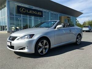 2012 Lexus IS250C 6A Rare find, local one owner dealer serviced
