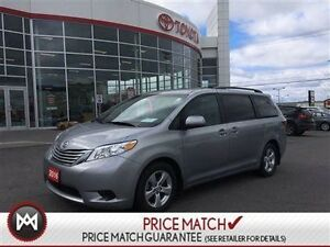 2016 Toyota Sienna LE, BLUETOOTH, BACK UP CAM, ALLOY WHEEL Speci