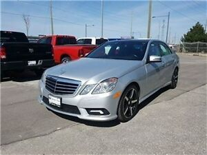 2011 Mercedes-Benz E-Class E550 4matic Navigation, Leather, Sunr