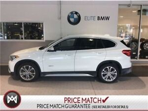 2017 BMW X1 PREMIUM, AWD, SUNROOF