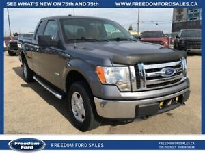 2012 Ford F-150 XLT, 4x4, A/C, Trailer Tow Package