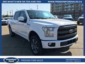 2016 Ford F-150 Lariat, Backup Cam, Tow Package, Sport Package,