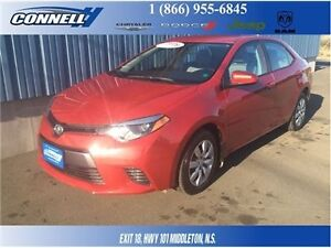 2016 Toyota Corolla LE With Back-UP Camera - LOW LOW KMS