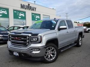 2018 Gmc Sierra 1500 SLT CCab 4WD Heated steering wheel, Onstar
