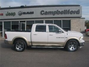 2011 Ram 1500 Laramie Sunroof Ventelated Seats Trailer Brake Belleville Belleville Area image 1