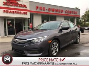2017 Honda Civic Sedan DX! NEW!***ZERO DOWN! $59.47 WEEKLY!