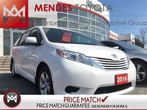 2016 Toyota Sienna LE: ALLOY WHEELS, HEATED SEATS, BACKUP CAM We