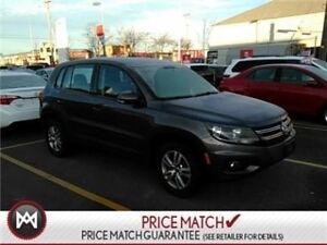 2014 Volkswagen Tiguan AWD ONE OWNER