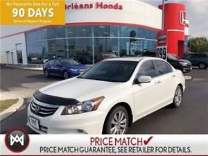 2012 Honda Accord EX-L .LEATHER INTERIOR, HEATED SEATS, SUNROOF,