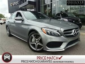 2015 Mercedes-Benz C400 LEATHER ROOF NAVI