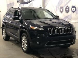 2016 Jeep Cherokee Limited | LEATHER | NAV | KEYLESS ENTRY |