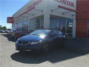 2014 Honda Civic Sedan EX - 4YR/100,000 KMS HONDA WARRANTY, SUNR