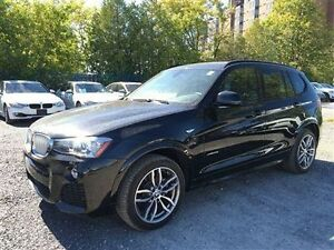 2016 BMW X3 NAVIGATION ROOF 3.5 LOADED
