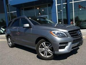 2014 Mercedes-Benz ML350 NAV, PANO ROOF, REAR HEATED SEATS