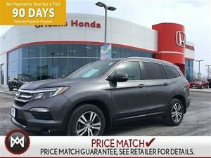 2016 Honda Pilot EX-L,NAVI,ROOF,LEATHER,ALLOYS,BACKUP CAMERA 4WD