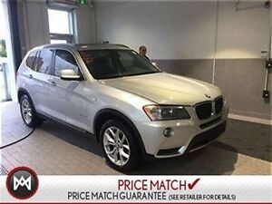 2013 BMW X3 Navigation, sunroof, technology package