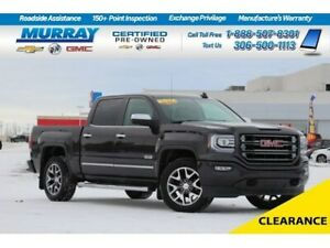 2016 GMC Sierra 1500 SLT 4WD*REMOTE START,SUNROOF,BEDLINER*