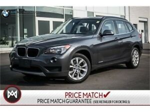 2014 BMW X1 PREMIUM, AWD, SUNROOF