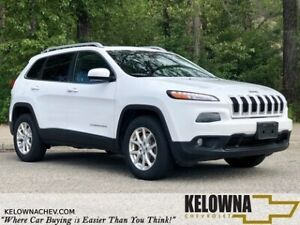 2016 Jeep Cherokee North 4x4 Sunroof, Bluetooth, Back Up Camera