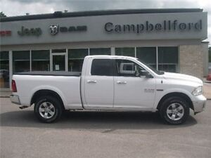 2014 Ram 1500 3.0 Diesel 8 Speed Automatic Backup Camera 4X4 8.4