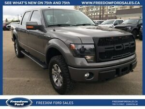 2013 Ford F-150 FX4, Reverse Parking Sensor, Roll Bar,