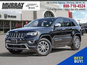 2016 Jeep Grand Cherokee Limited *NAV Panoramic Sunroof Leather