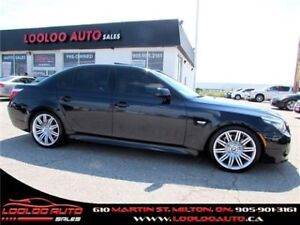 2008 BMW 5 Series 550i Head up Display M PKG Navigation Certifie